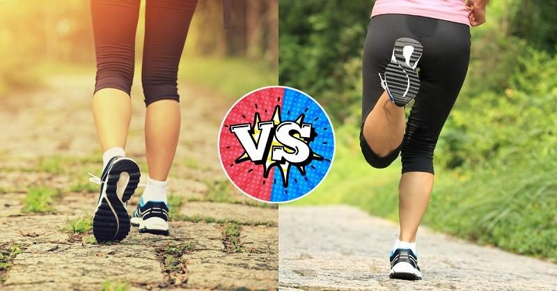 что лучше бег или ходьба сравнение